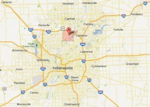 Indianapolis Service Map